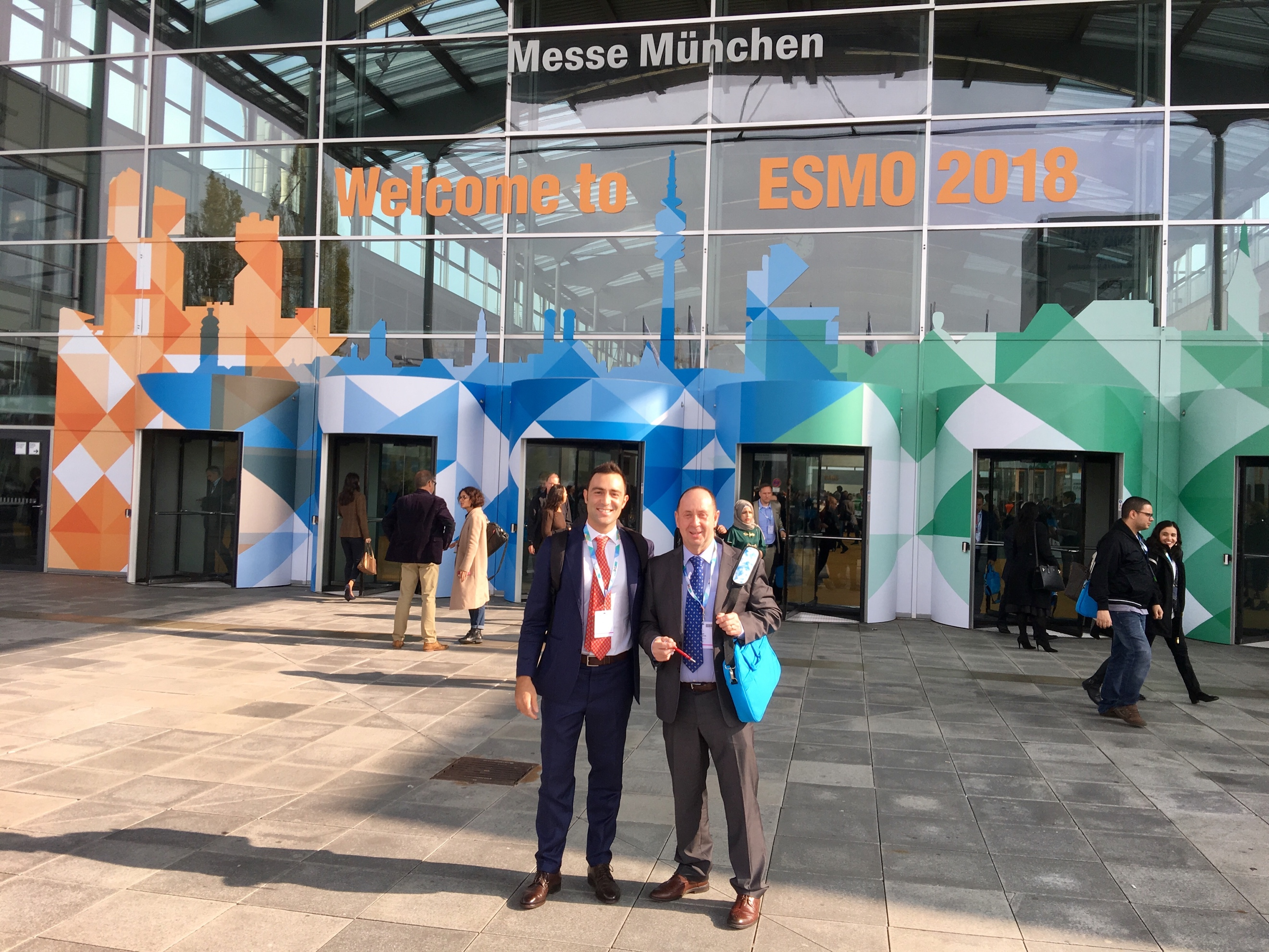Welcome to ESMO 2018