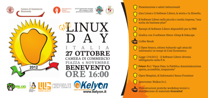 [Invito Linux Day 2012 Benevento]